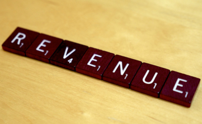 Revenue Scrabble Tiles